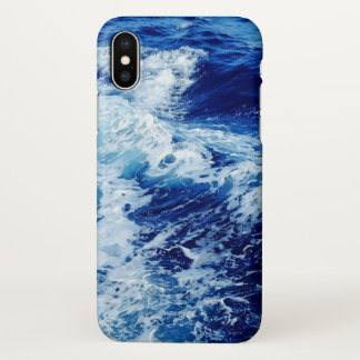 Blue Water Waves ipone Cover