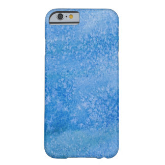 Blue Watercolor Background Barely There iPhone 6 Case
