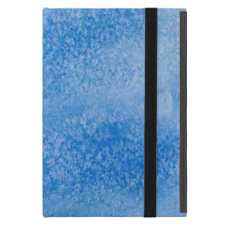Blue Watercolor Background Cover For iPad Mini
