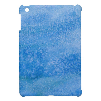 Blue Watercolor Background Cover For The iPad Mini