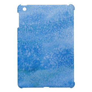 Blue Watercolor Background iPad Mini Covers