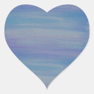 Blue Watercolor Sticker