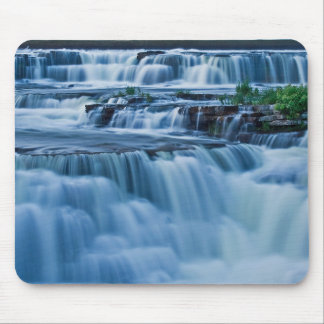 Blue Waterfall Mouse Mat