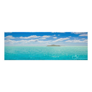 Blue waters of New Cal Poster for any wall Art Photo