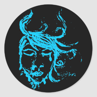 blue waters stickers