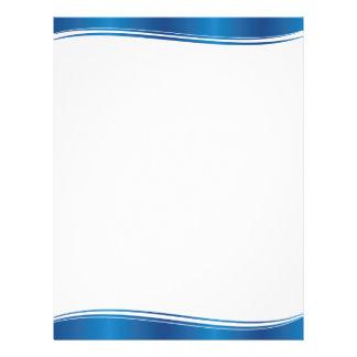 Blue Wave 21.5 Cm X 28 Cm Flyer