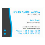 Blue Wave Business Card (Light)