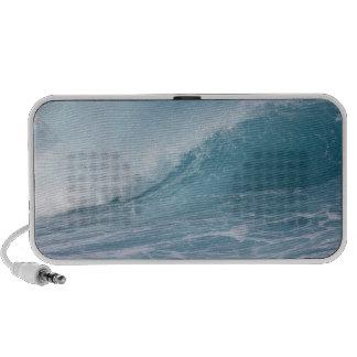 Blue wave crashing, Maui, Hawaii, USA 2 Notebook Speaker
