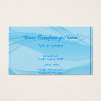 Blue Waves Business Card