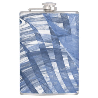 Blue waves flask