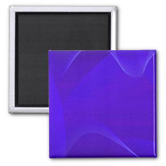 Blue Waves I Refrigerator Magnets