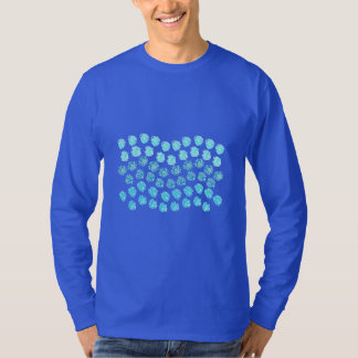 Blue Waves Men's Basic Long Sleeve T-Shirt