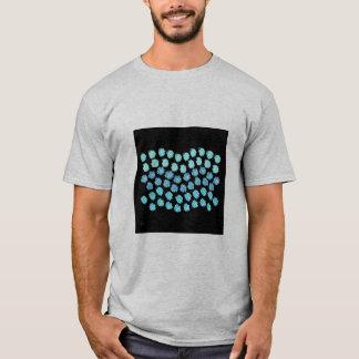 Blue Waves Men's Basic T-Shirt