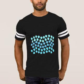 Blue Waves Men's Football T-Shirt