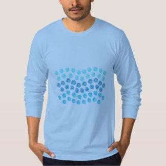 Blue Waves Men's Long Sleeve Jersey T-Shirt