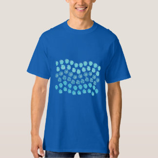 Blue Waves Men's Tall T-Shirt