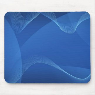 Blue Waves Mouse Pad