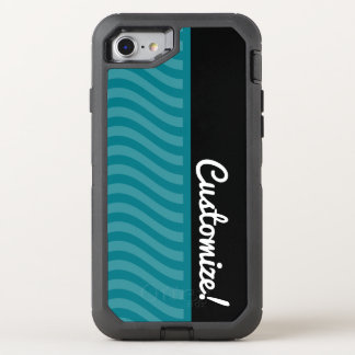 Blue Waves OtterBox Defender iPhone 8/7 Case