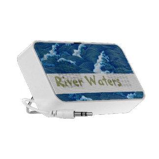Blue Waves iPod Speakers