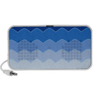 Blue Waves Travelling Speakers
