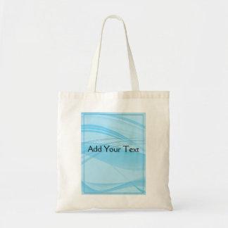 Blue Waves Budget Tote Bag