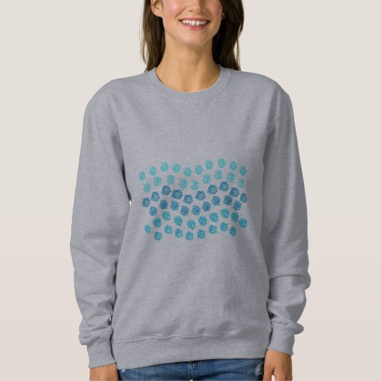 Blue Waves Women's Basic Sweatshirt