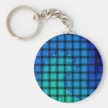 blue weave keychains