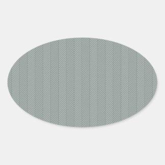Blue Weaved Pattern Sticker