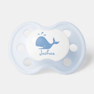 Blue whale baby pacifier / soother / dummy binkie