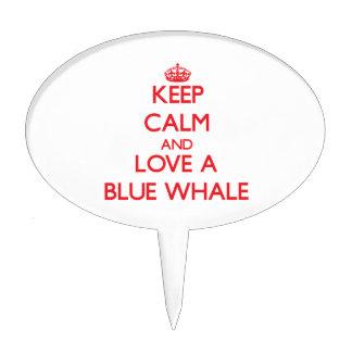 Blue Whale Cake Pick