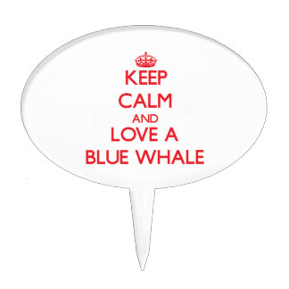 Blue Whale Cake Pick