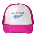Blue whale cap