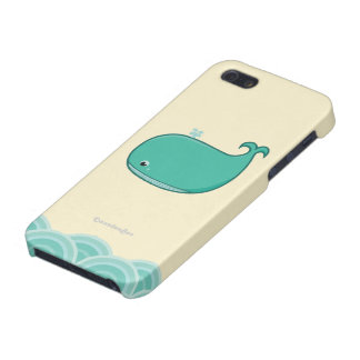Blue Whale iPhone 5/5S Cases