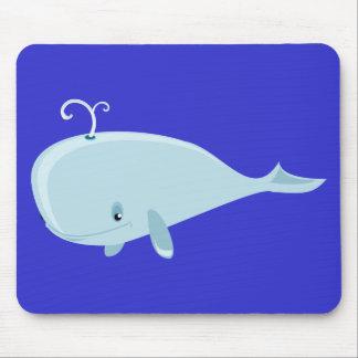 Blue Whale Mouse Mat