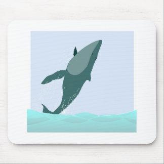 Blue Whale Mousepad