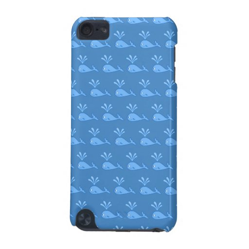 Blue Whale Pattern. iPod Touch 5G Case