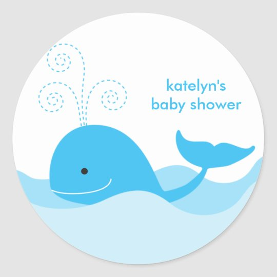 Blue Whale Stickers