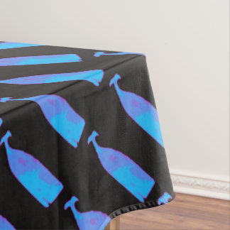 blue whales on any color tablecloth