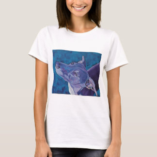 Blue Whippet T-Shirt