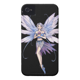 Blue Whispers Fantasy Fairy Art iPhone 4 Covers