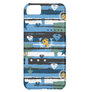 Blue, White and Fist iPhone 5C Case