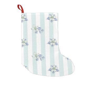 Blue & White Christmas Stocking