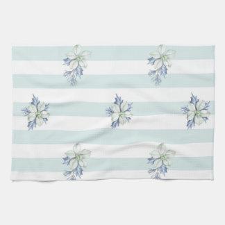 Blue & White Christmas Tea Towel
