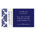 Blue & White Delight Pack Of Standard Business Cards