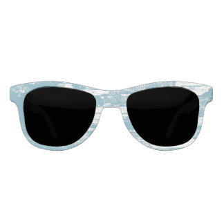 Blue White, Grunge, Washed Out, Cool Sunglasses