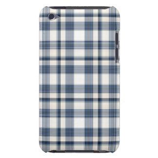 Blue White Plaid 1 Case-Mate iPod Touch Case