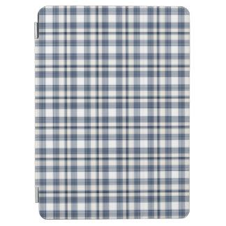 Blue White Plaid 1 iPad Air Cover