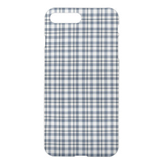 Blue White Plaid 1 iPhone 8 Plus/7 Plus Case