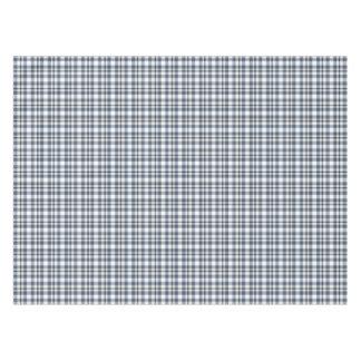 Blue White Plaid 1 Tablecloth