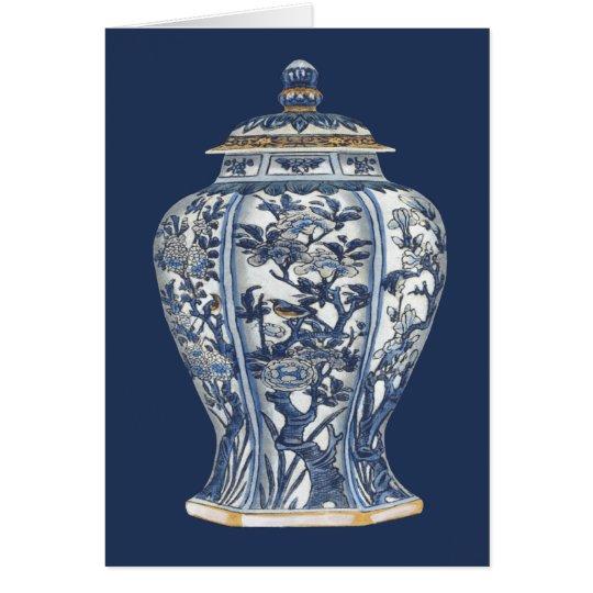 Blue & White Porcelain Vase by Vision Studio